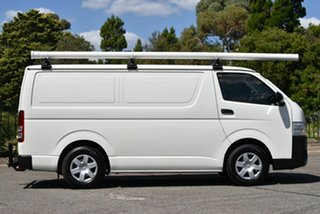 2014 Toyota HiAce TRH201R MY14 LWB White 4 Speed Automatic Van
