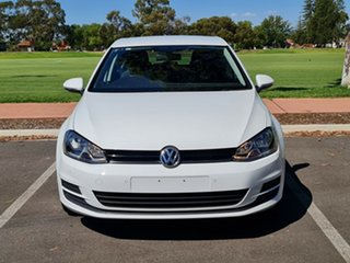 2015 Volkswagen Golf VII MY15 90TSI DSG Comfortline White 7 Speed Sports Automatic Dual Clutch.