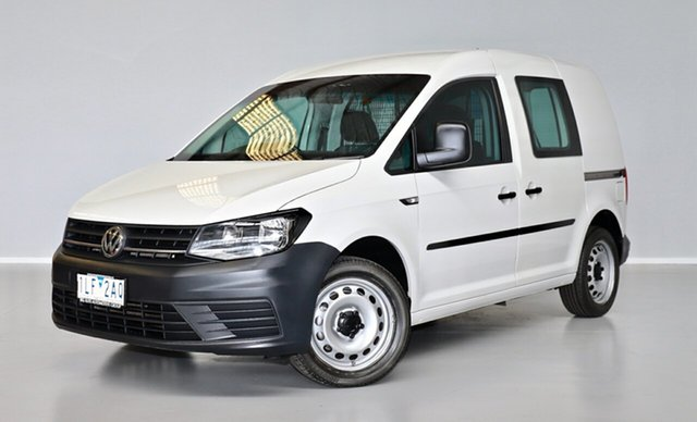 Used Volkswagen Caddy 2KN MY16 TSI220 SWB DSG Thomastown, 2016 Volkswagen Caddy 2KN MY16 TSI220 SWB DSG White 7 Speed Sports Automatic Dual Clutch Van