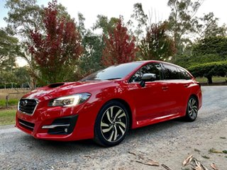 2018 Subaru Levorg V1 MY18 2.0 GT-S CVT AWD Pure Red 8 Speed Constant Variable Wagon