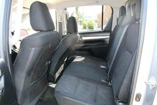 2016 Toyota Hilux GUN126R SR5 (4x4) Silver 6 Speed Automatic Dual Cab Utility