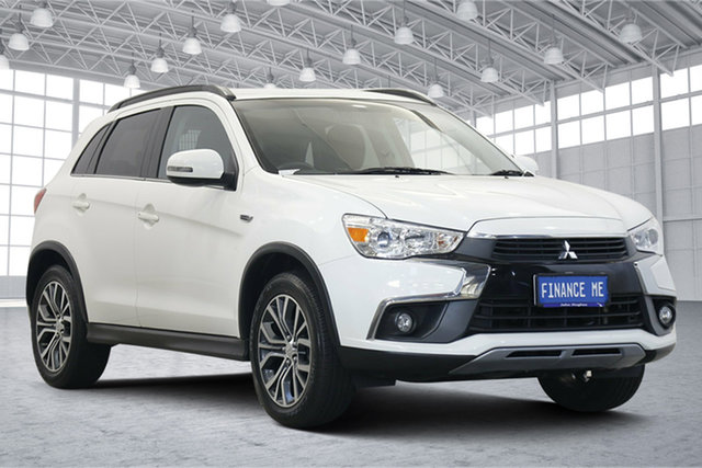 Used Mitsubishi ASX XC MY17 LS Victoria Park, 2017 Mitsubishi ASX XC MY17 LS White 6 Speed Sports Automatic Wagon