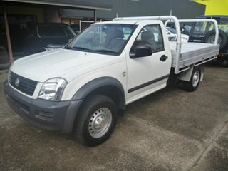 2006 Holden Rodeo RA MY06 LX 4x2 White 5 Speed Manual Cab Chassis.