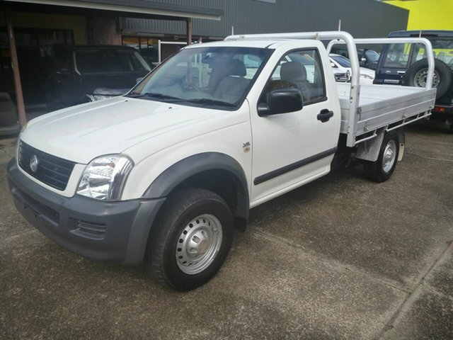Used Holden Rodeo RA MY06 LX 4x2 Morayfield, 2006 Holden Rodeo RA MY06 LX 4x2 White 5 Speed Manual Cab Chassis