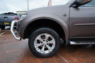 2014 Mitsubishi Triton MN MY14 Update GLX-R (4x4) Brown 5 Speed Automatic 4x4 Double Cab Utility.