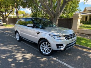 2015 Land Rover Range Rover Sport L494 16MY SE Silver 8 Speed Sports Automatic Wagon.
