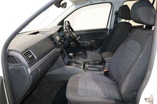 2018 Volkswagen Amarok 2H MY18 V6 TDI 550 Sportline White 8 Speed Automatic Dual Cab Utility