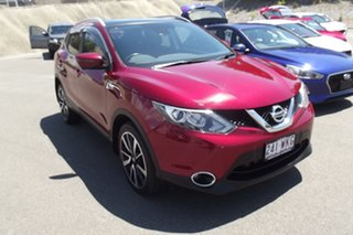 2015 Nissan Qashqai J11 TI Red 1 Speed Constant Variable Wagon.