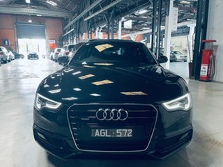 2015 Audi A5 8T MY16 Sportback S Tronic Quattro Black 7 Speed Sports Automatic Dual Clutch Hatchback