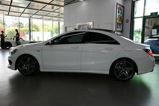 2015 Mercedes-Benz CLA-Class C117 805+055MY CLA250 DCT 4MATIC Sport White 7 Speed