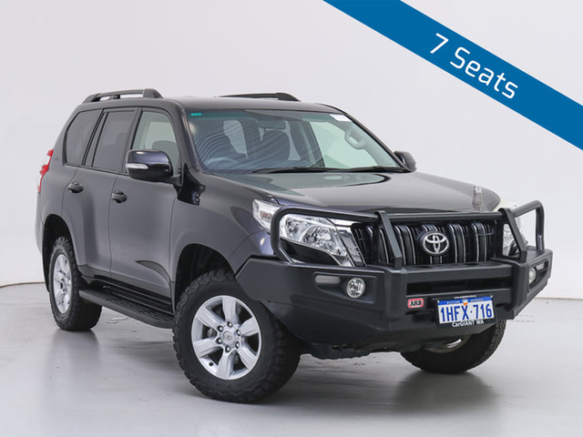 Used Toyota Landcruiser Prado KDJ150R MY14 GXL (4x4), 2015 Toyota Landcruiser Prado KDJ150R MY14 GXL (4x4) Black 5 Speed Sequential Auto Wagon