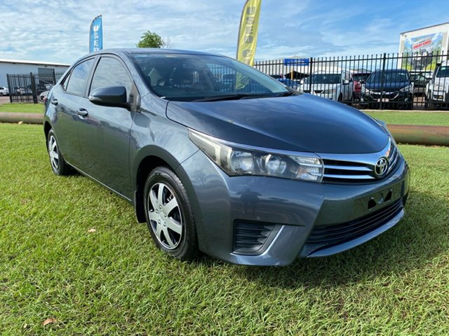 Used Toyota Corolla ZRE172R Ascent S-CVT Berrimah, 2015 Toyota Corolla ZRE172R Ascent S-CVT Grey 7 Speed Constant Variable Sedan