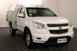 2016 Holden Colorado RG MY16 LS 4x2 White 6 speed Automatic Cab Chassis.