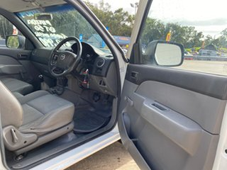 2008 Mazda BT-50 B2500 DX White 5 Speed Manual Cab Chassis