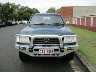 1998 Toyota Landcruiser UZJ100R GXV Green 4 Speed Automatic Wagon.