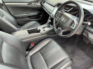 2018 Honda Civic 10th Gen MY18 VTi-LX Silver 1 Speed Constant Variable Sedan