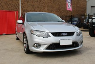 2010 Ford Falcon FG Upgrade XR6 50th Anniversary Silver 6 Speed Auto Seq Sportshift Sedan