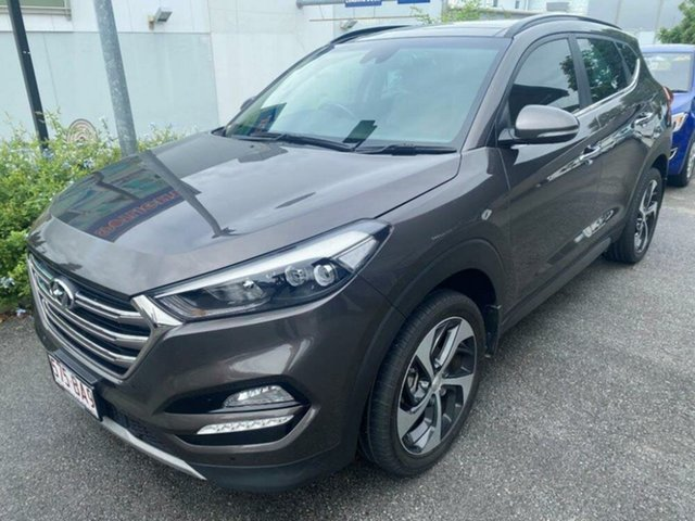 Used Hyundai Tucson TLe MY17 Highlander AWD Springwood, 2017 Hyundai Tucson TLe MY17 Highlander AWD Brown 6 Speed Sports Automatic Wagon