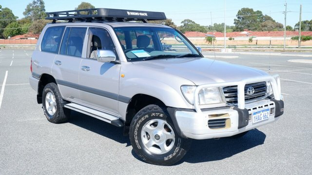Used Toyota Landcruiser UZJ100R GXL Maddington, 2003 Toyota Landcruiser UZJ100R GXL Light Grey 5 Speed Automatic Wagon