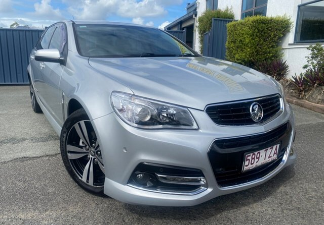 Used Holden Commodore VF MY14 SV6 Sportwagon Storm Slacks Creek, 2014 Holden Commodore VF MY14 SV6 Sportwagon Storm Silver 6 Speed Sports Automatic Wagon