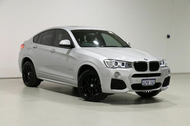 Used BMW X4 F26 MY16 xDrive 20D Bentley, 2018 BMW X4 F26 MY16 xDrive 20D Silver 8 Speed Automatic Coupe