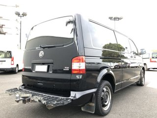 2012 Volkswagen Transporter T5 MY12 TDI400 LWB DSG 4MOTION Black 7 Speed