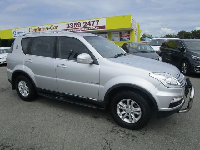 Used Ssangyong Rexton Y285 II MY14 SX Kedron, 2014 Ssangyong Rexton Y285 II MY14 SX Silver 5 Speed Sports Automatic Wagon
