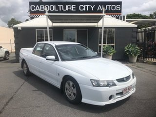 2003 Holden Crewman VY II S White 4 Speed Automatic Crew Cab Utility.
