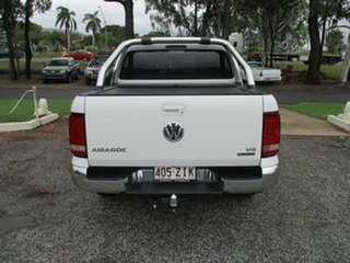 2018 Volkswagen Amarok 2H MY19 TDI550 4MOTION Perm Highline White 8 Speed Automatic Utility