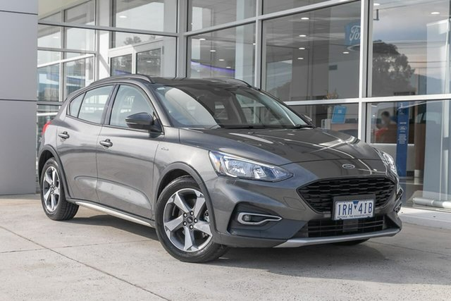 Used Ford Focus SA 2019.75MY Active Ferntree Gully, 2019 Ford Focus SA 2019.75MY Active Grey 8 Speed Automatic Hatchback