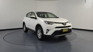 2018 Toyota RAV4 ZSA42R MY18 GX (2WD) White Continuous Variable Wagon.