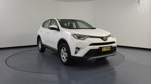 Used Toyota RAV4 ZSA42R MY18 GX (2WD) Altona North, 2018 Toyota RAV4 ZSA42R MY18 GX (2WD) White Continuous Variable Wagon