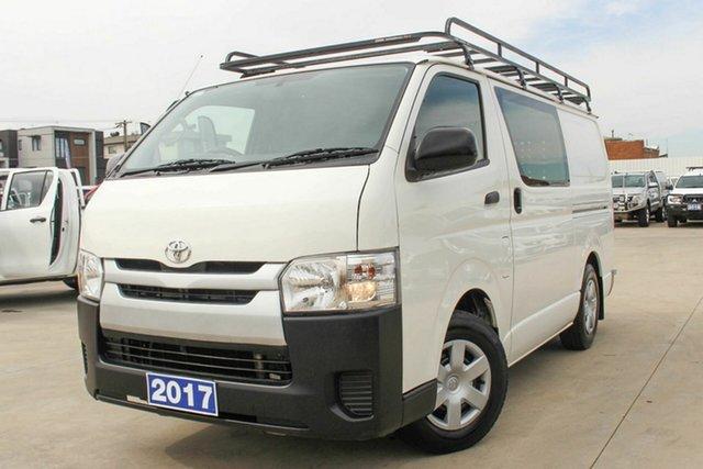 Used Toyota HiAce TRH201R LWB Coburg North, 2017 Toyota HiAce TRH201R LWB White 6 Speed Automatic Van
