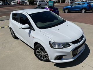 2018 Holden Barina TM MY18 LS White 6 Speed Automatic Hatchback.