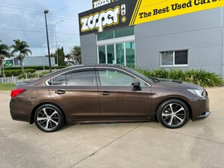 2017 Subaru Liberty B6 MY17 2.5i CVT AWD Premium Brown/300617 6 Speed Constant Variable Sedan.