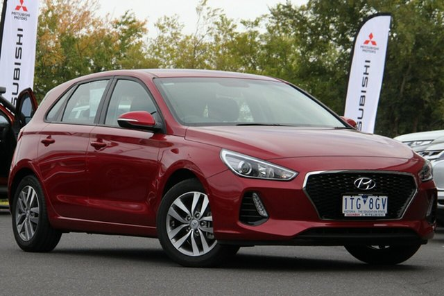 Used Hyundai i30 PD2 MY20 Active Essendon Fields, 2019 Hyundai i30 PD2 MY20 Active Red 6 Speed Sports Automatic Hatchback