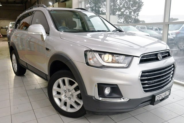Used Holden Captiva CG MY17 Active 2WD West Gosford, 2017 Holden Captiva CG MY17 Active 2WD Silver 6 Speed Sports Automatic Wagon