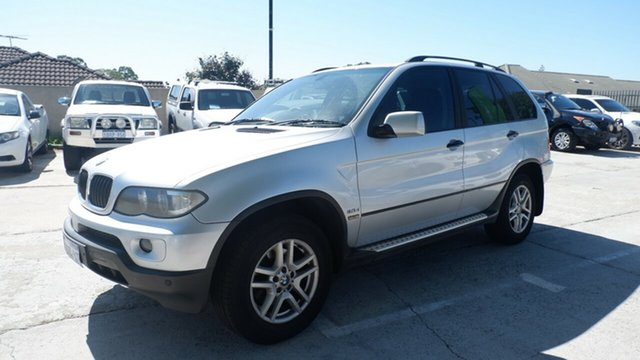 Used BMW X5 E53 MY04 d Steptronic St James, 2004 BMW X5 E53 MY04 d Steptronic Silver 6 Speed Sports Automatic Wagon
