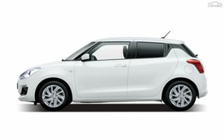 2021 Suzuki Swift AZ Series II GL Navigator Plus Pure White Pearl 1 Speed Constant Variable.