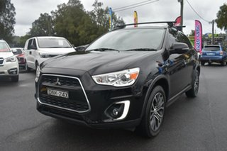 2016 Mitsubishi ASX XC MY17 LS 2WD Black 6 Speed Constant Variable Wagon