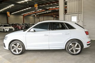 2016 Audi Q3 8U MY16 TFSI S Tronic Quattro Sport White 7 Speed Sports Automatic Dual Clutch Wagon