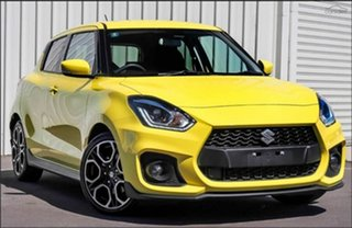 2021 Suzuki Swift AZ Series II Sport Champion Yellow 6 Speed Sports Automatic Hatchback