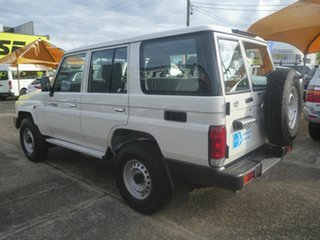 2020 Toyota Landcruiser VDJ76R Workmate White 5 Speed Manual Wagon