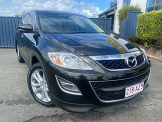 2010 Mazda CX-9 TB10A3 MY10 Luxury Black 6 Speed Sports Automatic Wagon.