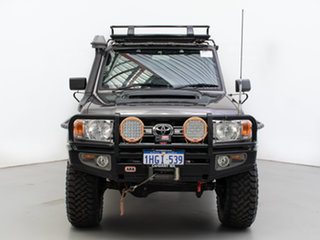 2014 Toyota Landcruiser VDJ79R MY12 Update GXL (4x4) Grey 5 Speed Manual Double Cab Chassis.