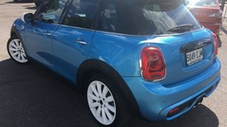 2016 Mini Hatch F55 Cooper S Blue 6 Speed Automatic Hatchback.
