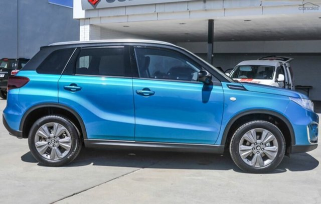 New Suzuki Vitara LY Series II 2WD Moorooka, 2021 Suzuki Vitara LY Series II 2WD Turquo & Black (2T) 6 Speed Sports Automatic Wagon