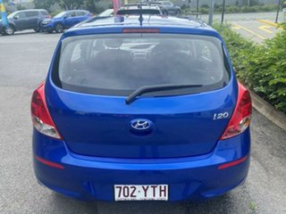 2013 Hyundai i20 PB MY14 Active Blue 4 Speed Automatic Hatchback