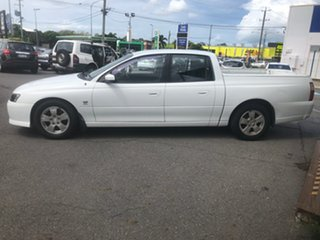 2003 Holden Crewman VY II S White 4 Speed Automatic Crew Cab Utility