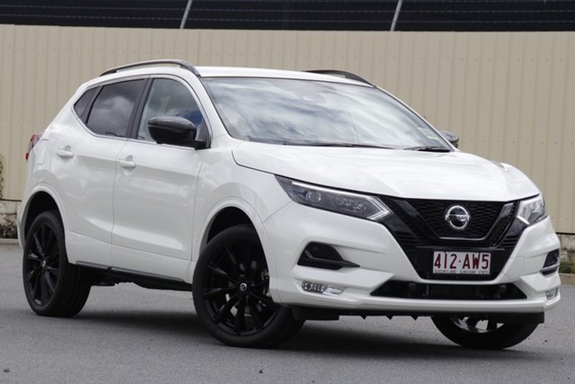Demo Nissan Qashqai J11 Series 3 MY20 Midnight Edition X-tronic Bundamba, 2020 Nissan Qashqai J11 Series 3 MY20 Midnight Edition X-tronic Ivory Pearl 1 Speed